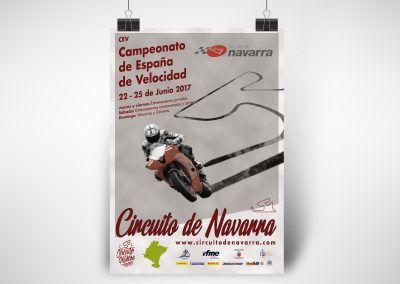 Cartel Circuito de Navarra