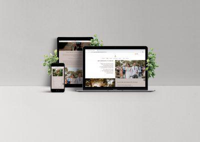 Diseño de Página Web. Cigarral de las Mercedes