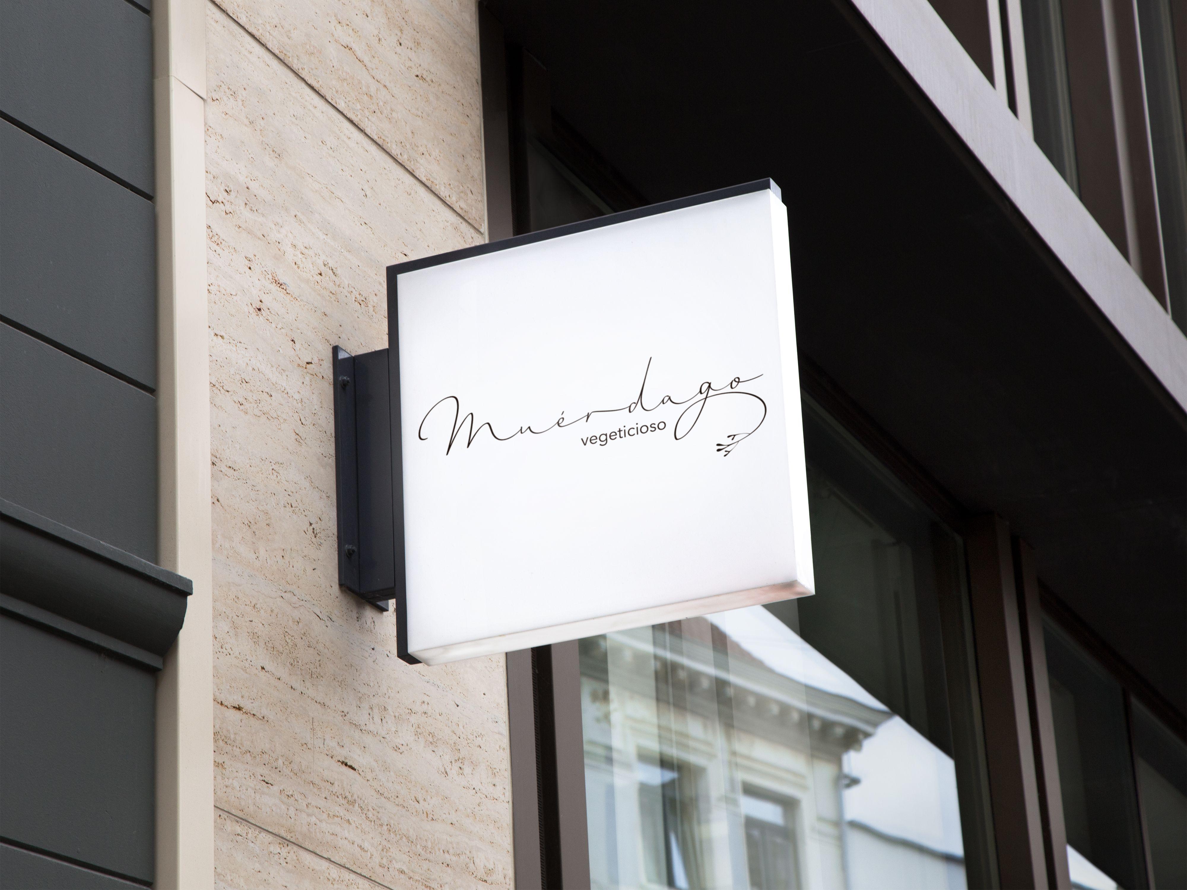 el estudio verde, logotipo, identidad de marca, corporativa, restaurante, logo, toledo, madrid, diseño gráfico toledo, branding