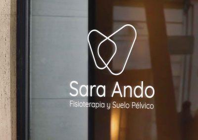 Branding. Sara Ando – Fisioterapia y suelo pélvico