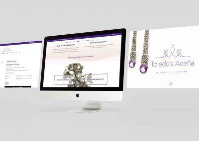 Diseño tienda online + Fotografía de producto. Toledo's Aceña