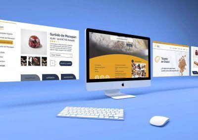 Branding, identidad de marca y diseño web. Toledo en Dulce